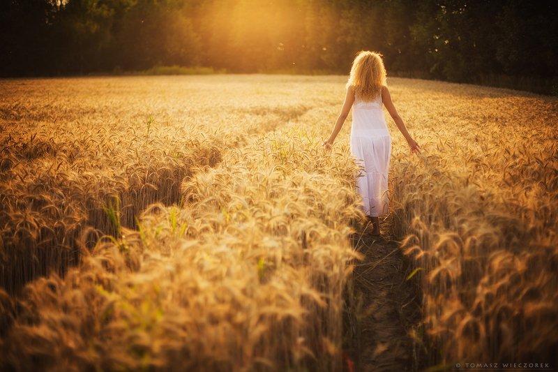 girl, woman, love, sunset, sunrise, light, sun, beautiful, portrait, polish, poland, sexy, body, summer, amazing, awesome, adventure, field, grain, touch Towards the sun фото превью