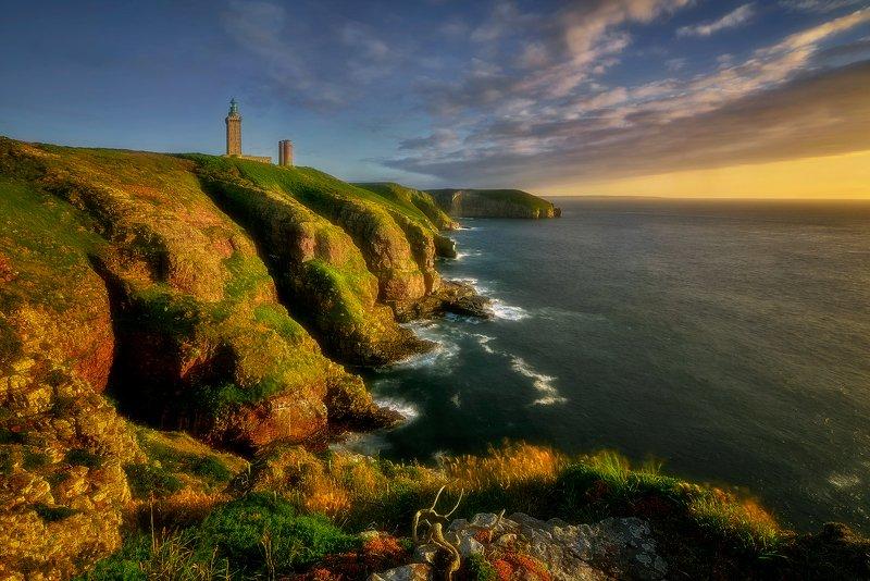 cliff, landscape, france, sea Cap Frehelphoto preview