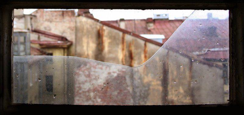 крыши, стекло, капли, старость, дома, петербург Линия жизни..photo preview