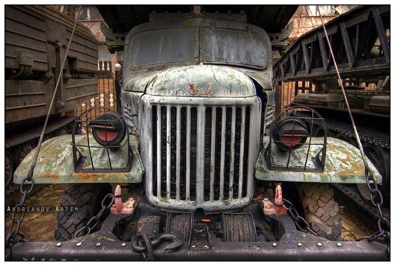 зил,автомобиль,москва,hdr,музей. ЗИЛphoto preview