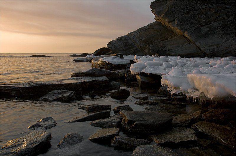 утро, море, весна *photo preview