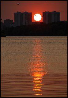 Еще один московский закат