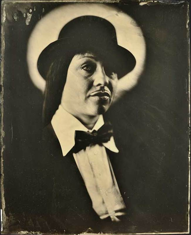 wet, plate, collodion, ambrotype Germina...photo preview