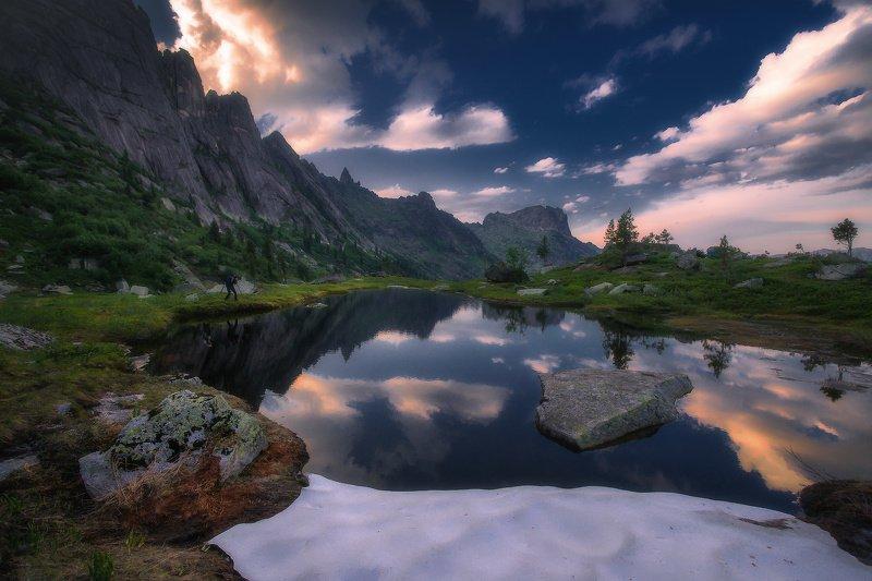 ергаки, горы, саяны, западныйсаян, сибирь Ласточка фото превью