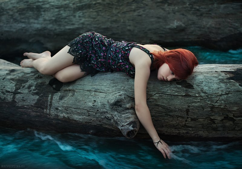river, water, darkness, girl, modeling, nikon, sigma35mmart ***photo preview