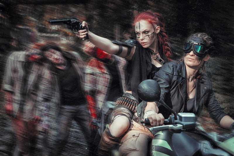 зомби ужас триллер кровь Зомбиphoto preview