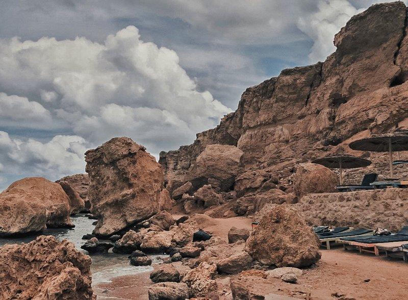 египет,пляж, красное море,скалы Скалистый пляжphoto preview