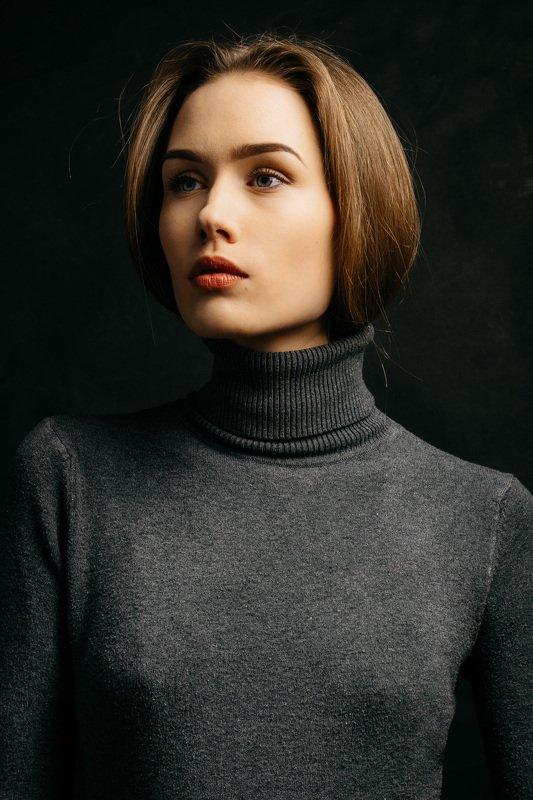 portrait, girl, model Ugne.photo preview