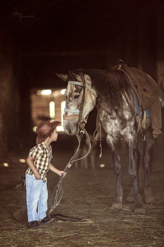 Юный ковбойphoto preview