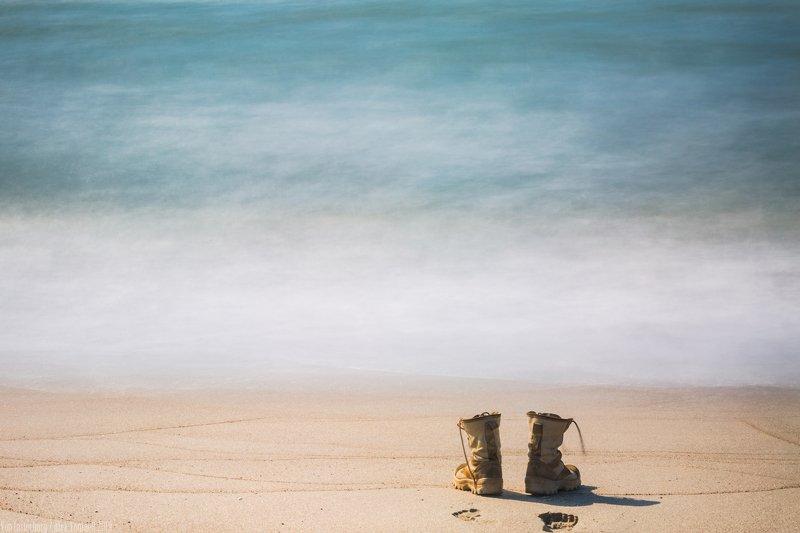 море, балтика, пляж, берег, минимализм, обувь, sea, ostsee, boots, shore, shoes, landscape,seascape,longexposition, ***photo preview