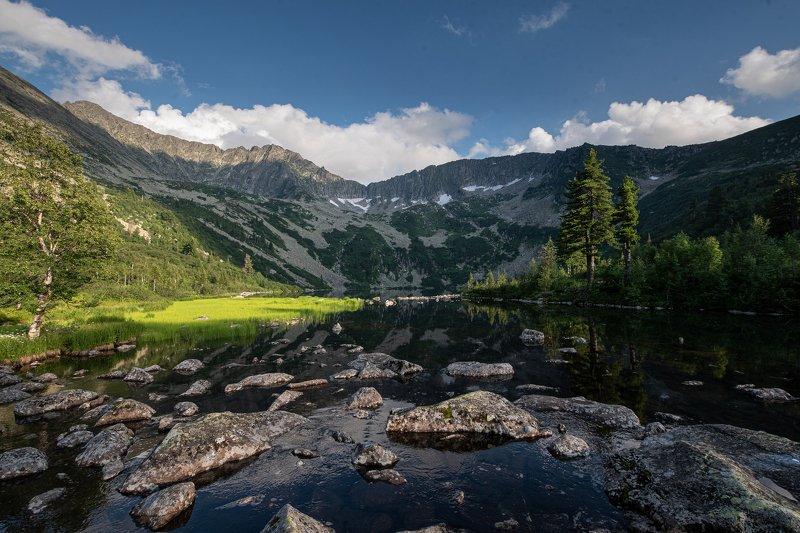 природа, пейзаж, горы озеро Выпускников, Хакассияphoto preview
