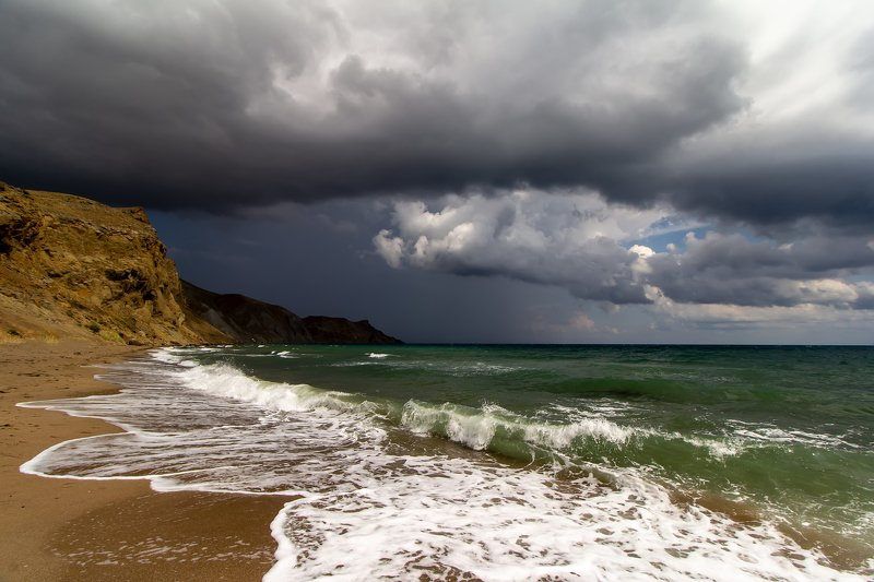 море, бухта, тихая, крым, непогода Тихая бухта...photo preview