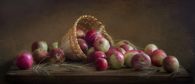 натюрморт,яблоки,яблочный спас Яблочный спасphoto preview