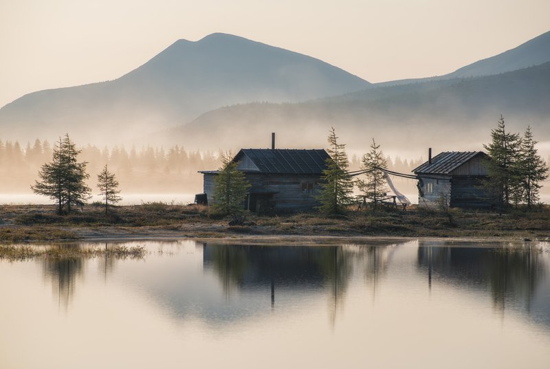 колыма Колыма. На озере Момонтай.photo preview