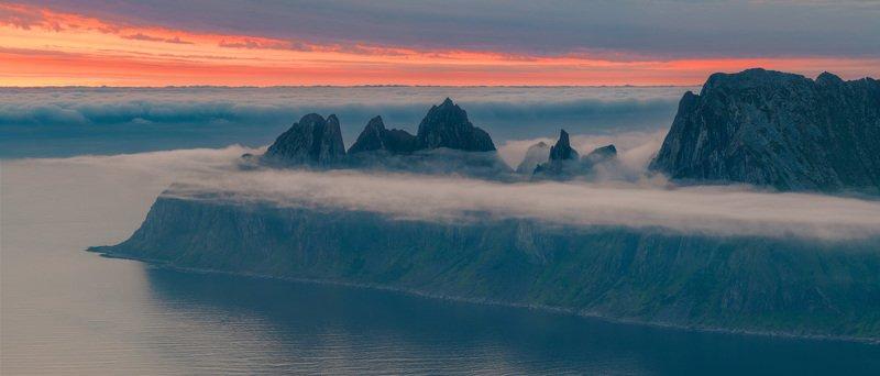 норвегия, сенья, senja, norway, рассвет, dawn Перед рассветомphoto preview