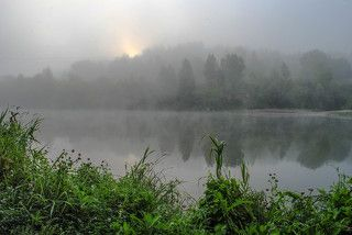 Туманный восход.