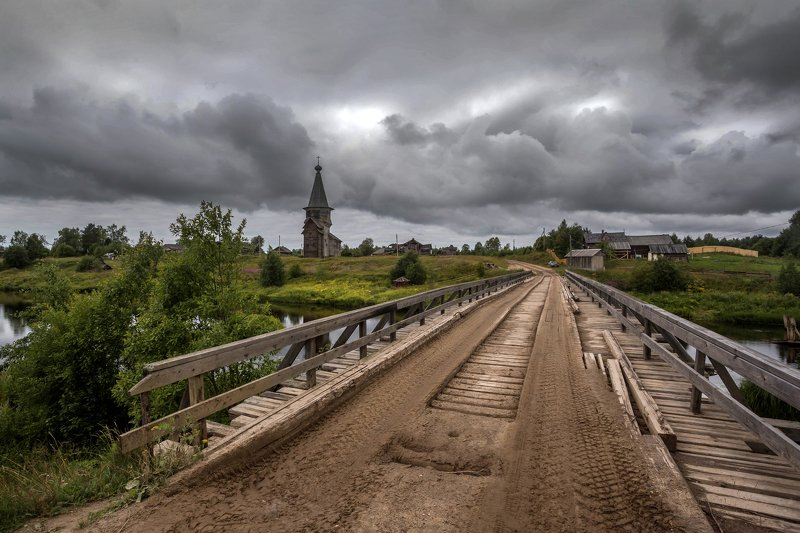 саминский погост, север ,деревня, туча, вологодская, онега Саминский погостphoto preview