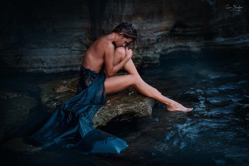 портрет красота девушка арт где-то у моряphoto preview