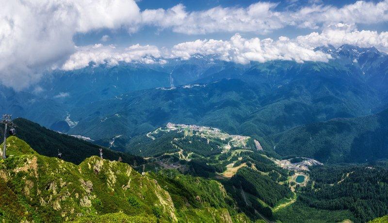 Лето в горах Красной поляныphoto preview