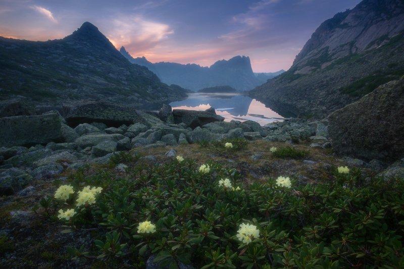 ергаки, горы, саяны, западныйсаян, сибирь Доброе утро фото превью
