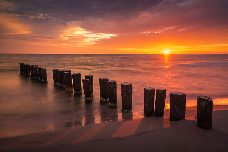 baltic  ,sun, sunset, sunrise, horizon, dawn, dusk, sky, orange, view, sunlight, morning, lights, sea, water,  Sunrisephoto preview