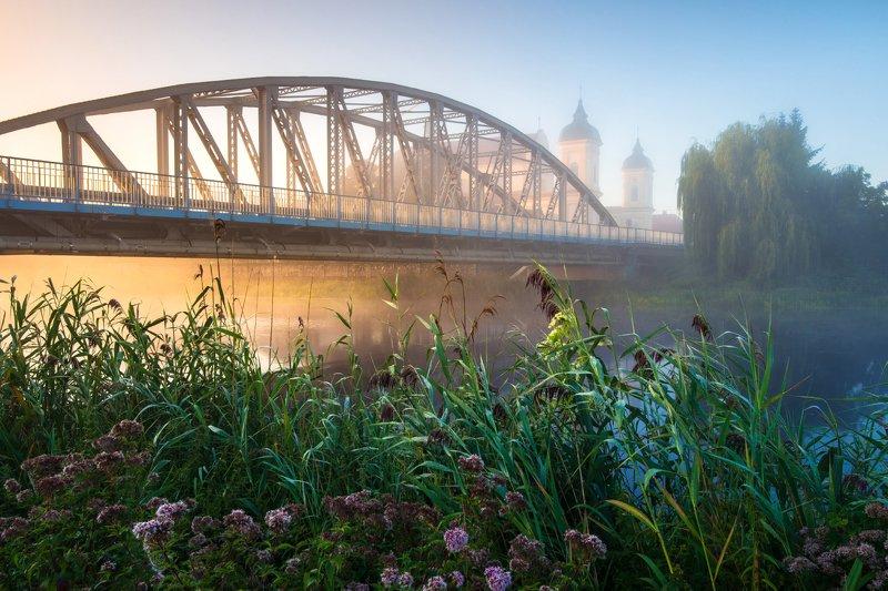 tykocin, podlasie, podlaskie, narew, mgła, morning, city, landscape, krajobraz, canon, 6d, rydzewski, poland, bridge, Tykocinphoto preview