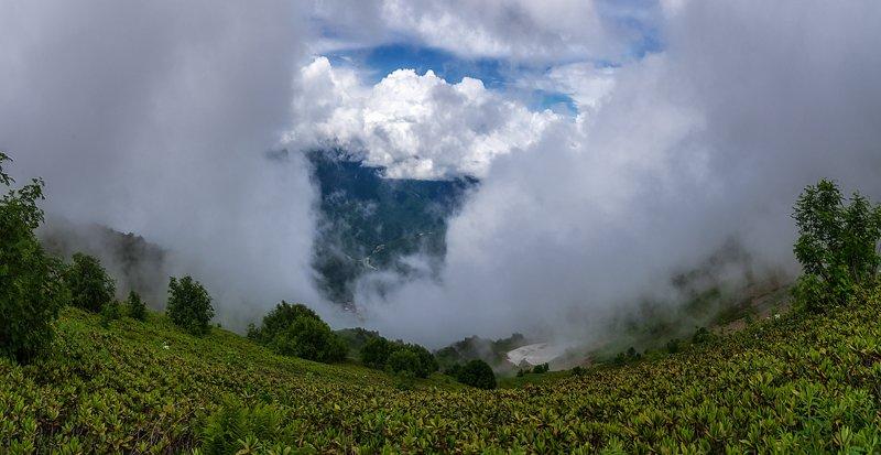 В горах, туманах, облаках...photo preview