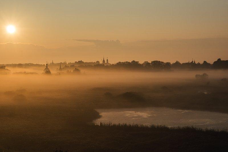 Туманный рассвет, Суздальphoto preview