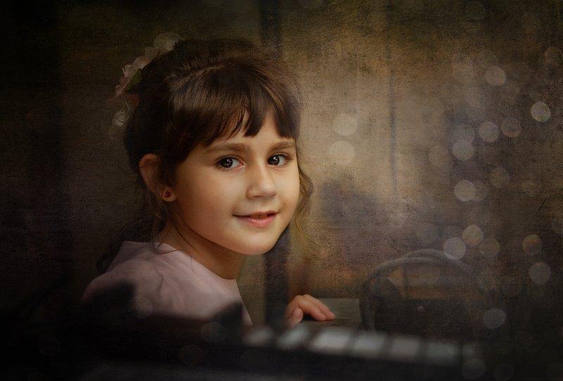 portret, портрет, женщина, девочка, модель, рыжая, ребенок photo preview