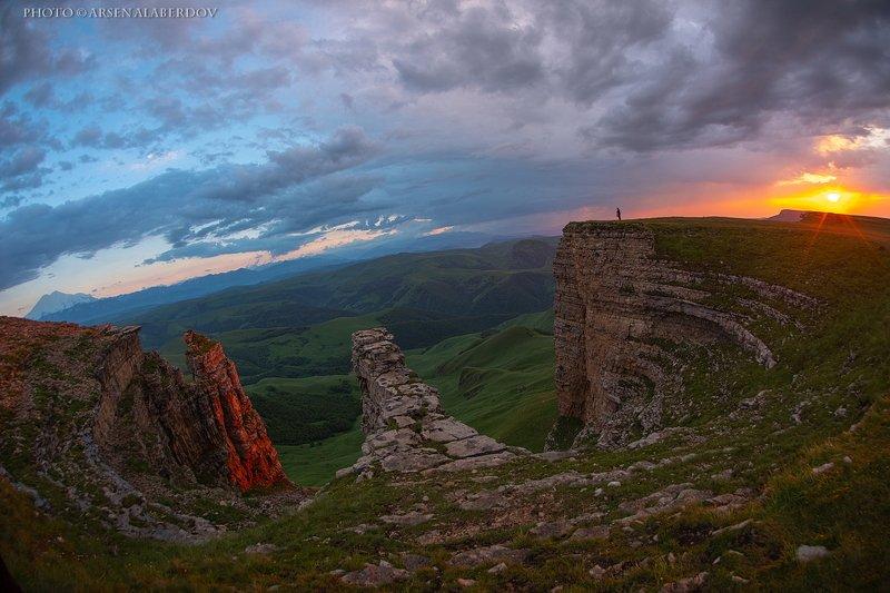 эльбрус, бермамыт, гора, рассвет, небо, плато, облака, утро, закат, фишай, панорама БЕРМАМЫТСКИЕ ЗАКАТЫphoto preview