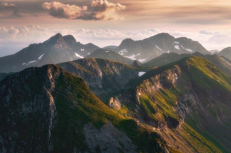landscape, expression, romania, sunset, ridge, fagaras Identityphoto preview