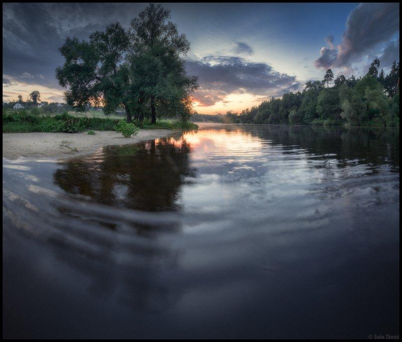 украина, коростышев, природа, река, тетерев, небо, рассвет, пейзаж, тишина, гармония, волшебство, жизнь, бытие, осознанность, рябь, островок, фотограф, чорный, Мгновение полной прозрачностиphoto preview