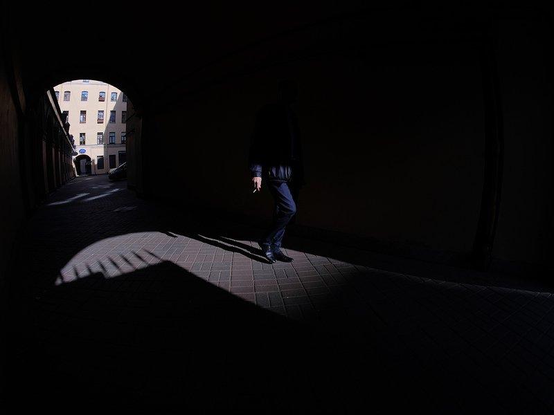 Санкт-Петербург, дворы, люди ***photo preview