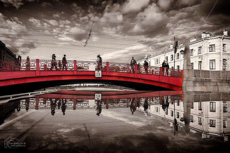 мост петербург Красный мостphoto preview