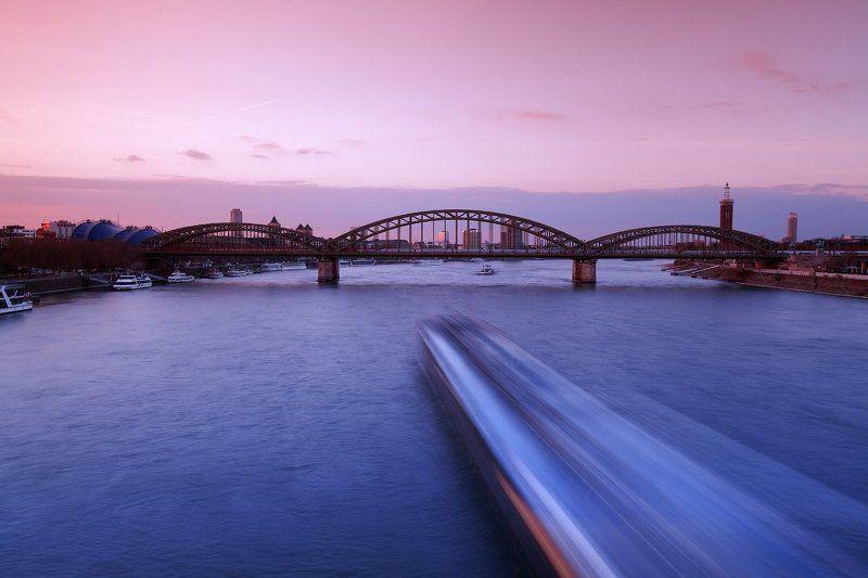 город, кельн, германия, рейн, мост Мост влюбленных сердецphoto preview