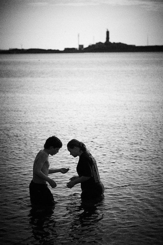 дети, в, море Дети в мореphoto preview
