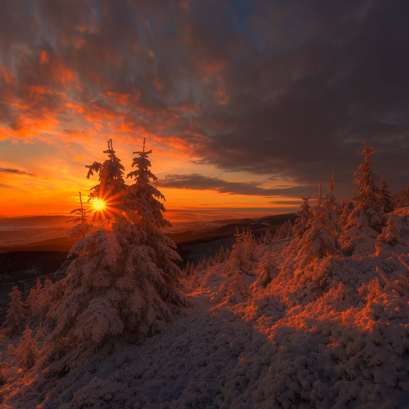 landscape,canon,sunrise,winter,mountains Just a Memory...photo preview