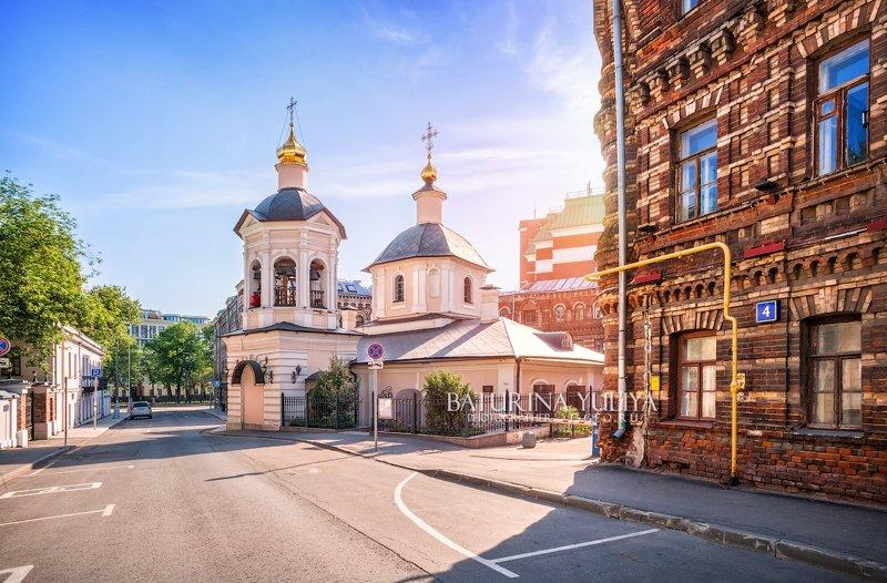 москва, сергиевская церковь Сергиевская церковьphoto preview