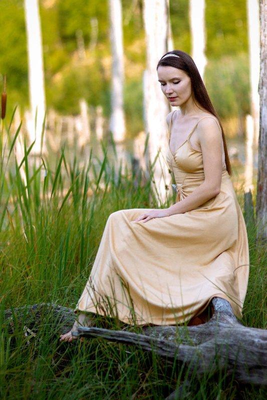 Портрет на сухом деревеphoto preview