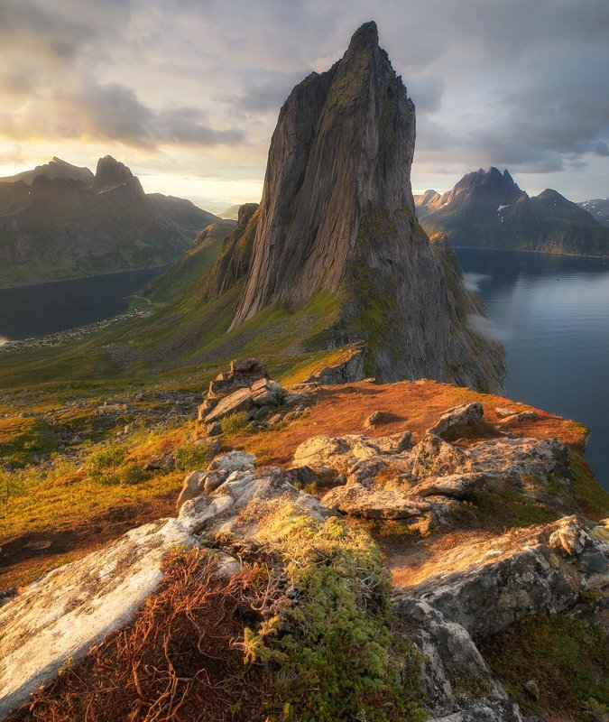 norway, segla, senja First lightphoto preview