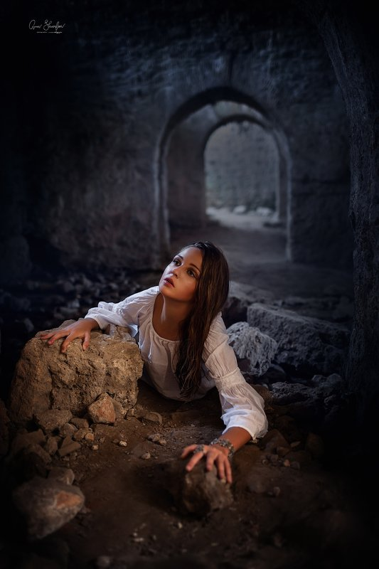 портрет красота девушка арт заблудшая душаphoto preview