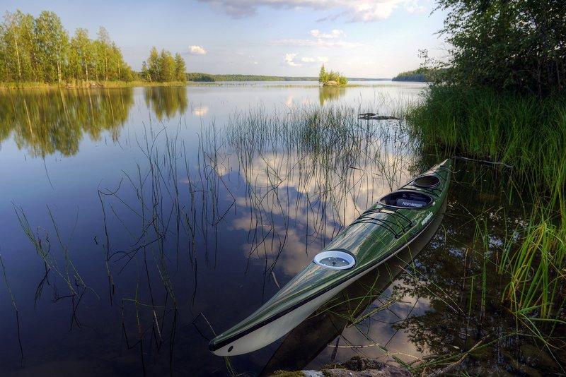 карелия Скользить по глади вод...photo preview