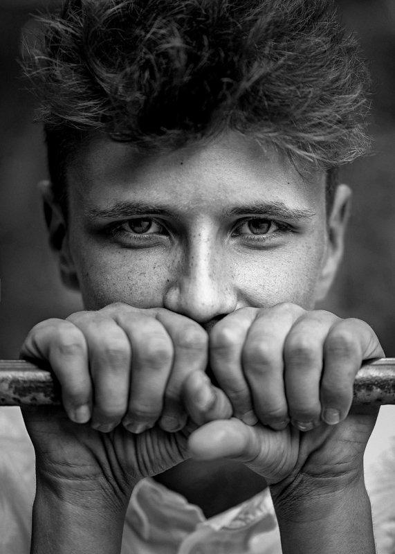portrait, man, model, eyes, hair, lips, face, bnw, facial, modeling, photographer, russia, nikon Alexphoto preview