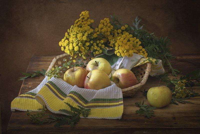 натюрморт,яблоки Яблокиphoto preview