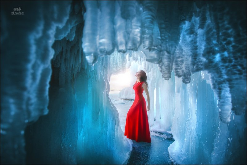 Россия, Байкал, модель, фототур, фотопутешествие В царстве льда...photo preview