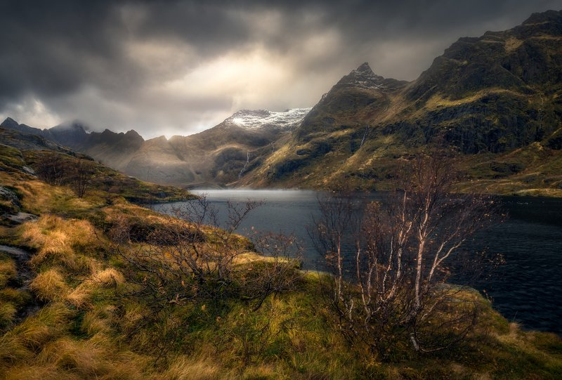 Norway hiking lofoten The silence of naturephoto preview