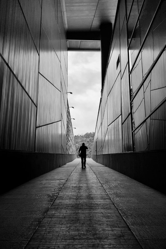 #architecture #human #street #bne #conceptual #minimal Walk Alonephoto preview