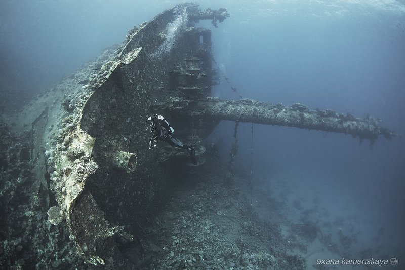 underwater wreck diving  Нос Giannis Dphoto preview
