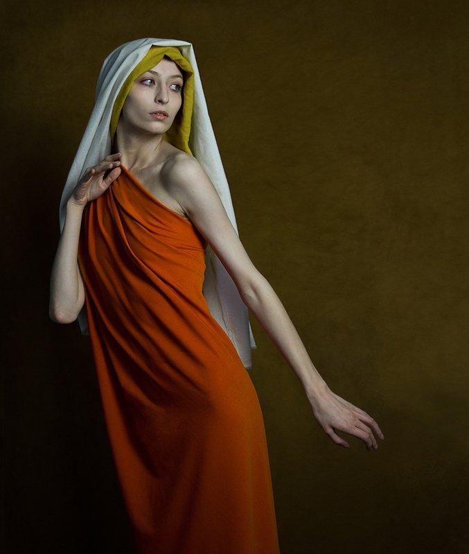 fine art portrait Жена Лота. фото превью
