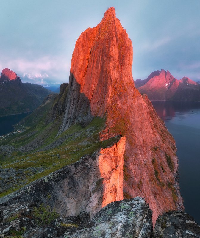 segla, norway, senja, sunset The last sunset of summerphoto preview